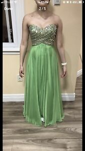 Long Prom chiffon dress best offer.