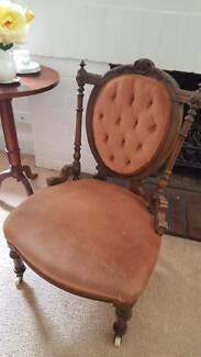 Walnut Crinoline Chair