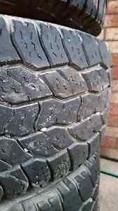 4 tyres for sale 245/65/16 Woodrising Lake Macquarie Area Preview