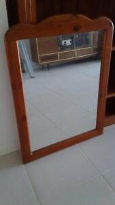Large  Wall Mirror- Timber Framed