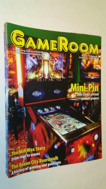 GAMEROOM  OCT 2008 MINI-PIN ROB CRAIG - THE MILL WAX STORY VF