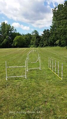 Dog Agility Equipment | Complete Package | 3 Obstacles