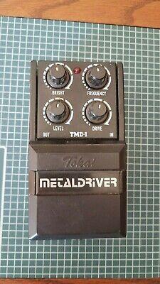 Tokai TMD-1 Metal Driver Distortion Pedal Series One MIJ 1980's Vintage Japan