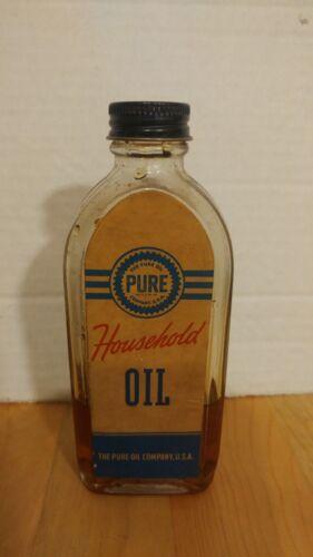 PURE Household Oil bottle.