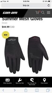 Can-Am Spyder Women's Summer Mesh Gloves