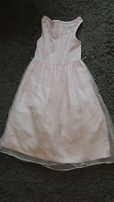 Girls Rare Editions light pink dress with flowers size 7](Flower Girl Dresses Light Pink)