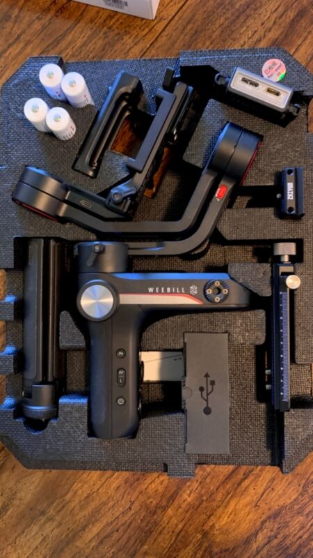 Zhiyun Weebill S 3-Axis Gimbal Handheld Stabilizer Image Transmission Pro Kit