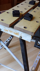 Folding work bench/ saw horse Mount Colah Hornsby Area Preview