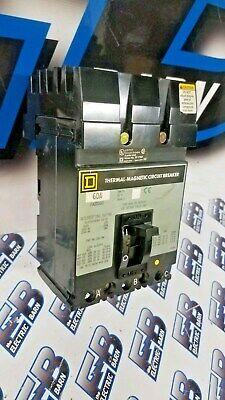 Square D Fa32060 60 Amp 240 Volt 3p Grey Iline Circuit Breaker- Warranty
