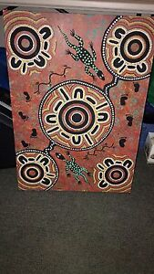 Aboriginal painting Port Augusta Port Augusta City Preview