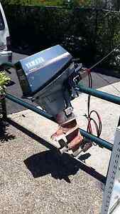 Yamaha 4 stroke outboard boat motor Shailer Park Logan Area Preview