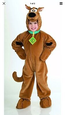 Scooby-Doo Plush Deluxe Costume Toddler Priority Mail ()