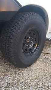 "4x sunraysia rims and tyres 31"" x 16"" x 8"" Athelstone Campbelltown Area Preview"
