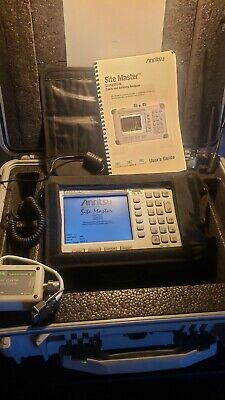 Anritsu S332d Sitemaster Cable And Antenna Analyzer With Hard Case
