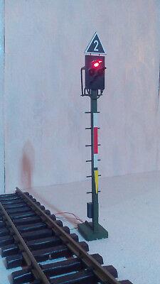 Spur G / Spur 2  Lichtsignal  /  Ks-System DB AG  /  HSB