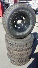 ALL TERAIN TYRES WITH SUNRAISOR WHEELS PACKAGE 4x4 HILUX Fawkner Moreland Area Preview