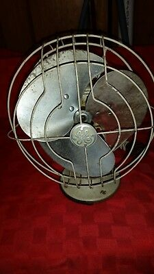 Rare Ivory 1932 Vintage Ge 8  Quiet Fan    Model 55X165    No  159703   Lqqk