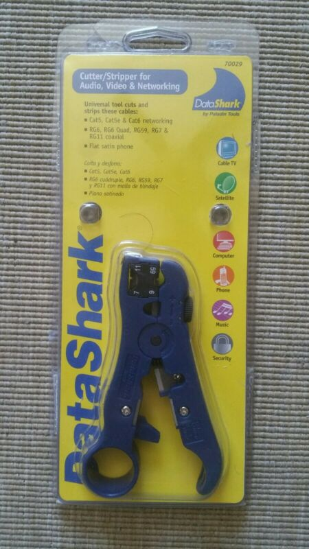 Datashark Cutter/stripper For A/V Networking Cable 70029