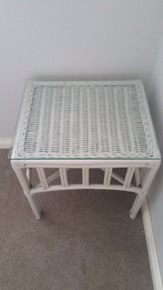 Bedside or occasional tables x 2