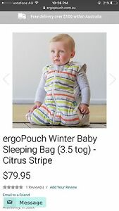 New ergopouch winter baby sleeping bag 3.5 tog for sale Cannington Canning Area Preview