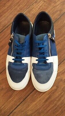 Versace Men's Vit-Gommato- Capra- Crosta Sneakers DSU6272 Size EU 43
