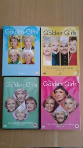 DVD Golden Girls TV comedy series. Series 1 to 4. No box.