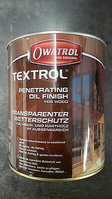 Rustikale Öl (Owatrol Textrol Öl - UV-Schutz Holzöl - Farblos + Hell + Rustikal)