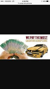 Towing we buy scraps car and truck we pay cash $$$$$ 7/7