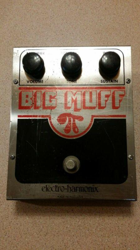 Electro Harmonix Big Muff Pi Fuzz Pedal vintage 1978