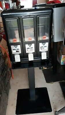 Routemaster Vending Machine 3 Select Triple Play Tri- Vend Type Machine Candy