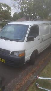 2000 toyota hiace van Bankstown Bankstown Area Preview