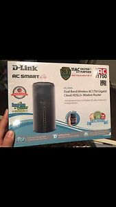 brand new dlink adsl2+ modem router Buderim Maroochydore Area Preview