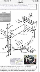 2011 - 2017 Jetta Trailer Hitch and Wiring