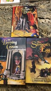 Serpent's Egg Trilogy by J. Fitzgerald McCurdy