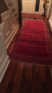 Persian Red Runner / 100 % Wool