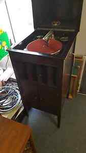 Antique Columbia grafonola gramophone. WORKING Hallett Cove Marion Area Preview