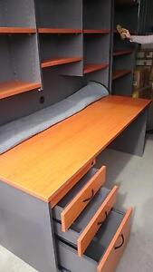 Desk and hutch office furniture Moree Moree Plains Preview