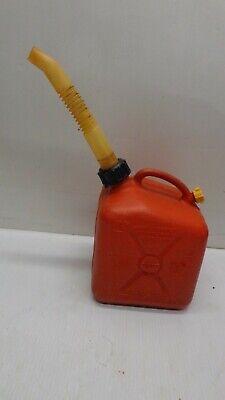 Vintage Scepter 1 Gallon Plastic Gas Can Vented Pre-ban Wvent Spout