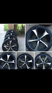 5 stud wheels 19s suit ford or toyota Cranbourne Casey Area Preview
