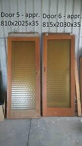 Wooden Door with glass pane - Amber Para Vista Salisbury Area Preview