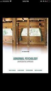 Abnormal Psychology: An Integrative Approach.