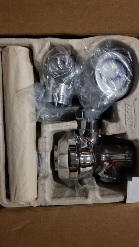 Zurn Z6000-YB-YC Aquaflush Flush Valve 3.5 Gallon w/ Cast Wall Flange, Sweat kit