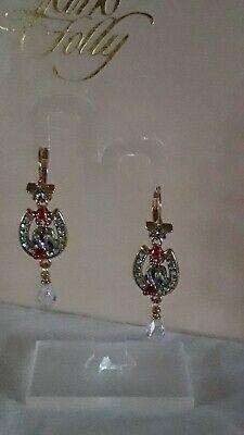Kirks Folly Lucky Hòrseshòe Gnome Earrings