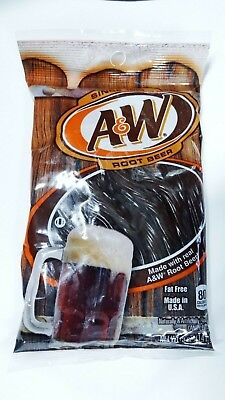 Kenny's A&W Root Beer Twist In Soda Flavored Licorice Candy 5 Oz ~ 4 or 6 bags  (Root Beer Licorice)