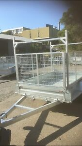 Heavy Duty Cage Trailers Online Qld  Collingwood Park Ipswich City Preview