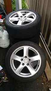 Holden wheels and 100% tread tyre Fulham Gardens Charles Sturt Area Preview