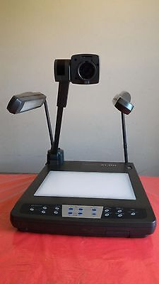 Elmo Visual Presenter Hv-5100xg Document Camera Projector Remote And Power Cord