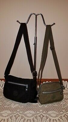 "Kipling ""Sabian"" and ""Darold"" Small Crossbody Bags- Lot of Two Bags (EUC)"