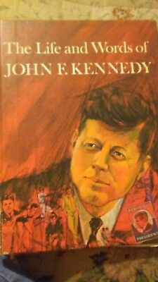 """Book about """"The Life And Words Of John F. Kennedy"""""""