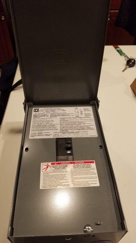 Square D Q02100NRBCP Electrical Enclosure Circuit Breaker Series E02 Q02100NRBCP